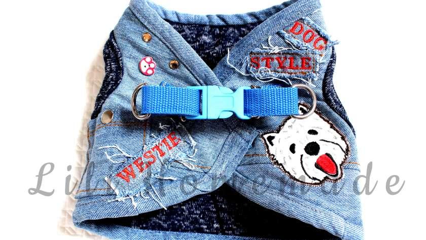 kamizelka dla psa jeans